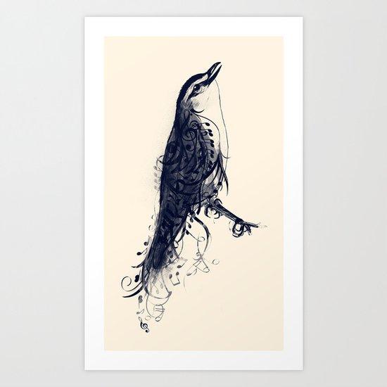 The Songbird Art Print