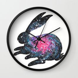 Astral Bunny 1 Wall Clock