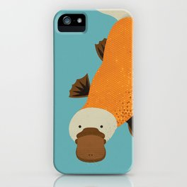 Whimsy Platypus iPhone Case