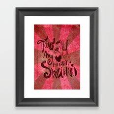 ♥♥ Framed Art Print