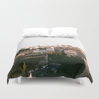 italy Duvet Covers featuring italy by paulina