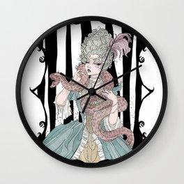 Madame Boa Wall Clock