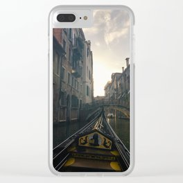 Don't go into the light Clear iPhone Case