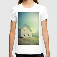 country T-shirts featuring Country Morning by Olivia Joy StClaire