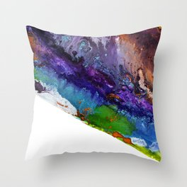 Devil and the Deep Blue Sea Throw Pillow
