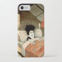edward scissorhands iPhone & iPod Cases featuring Edward Scissorhands by Daniela Volpari