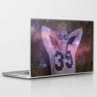 niall Laptop & iPad Skins featuring Niall Galaxy by WanderlustHipster