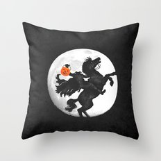 sweety hollow Throw Pillow