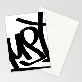 Hustle Graffiti Tag Stationery Cards