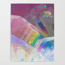 Opal Aura Quartz Crystal 1 Poster