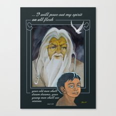I Will Pour Out My Spirit Canvas Print