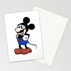 Super Mickey Brother Stationery Cards