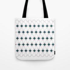 cat box pattern pink Tote Bag