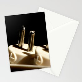 Electronic Adapter Macro Stationery Cards