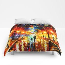 Tardis Art Watching Comforters