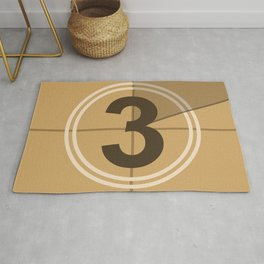 Count Down cinema Rug