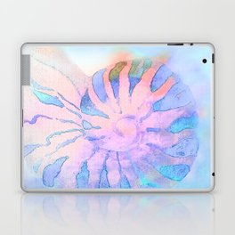 NAUTILUS CONCH SEA SHELL IMPRESSION Laptop & iPad Skin