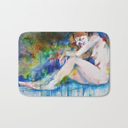 NUDE OF WOMAN - MARCH 3,2017 Bath Mat