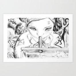 Global perversion Art Print