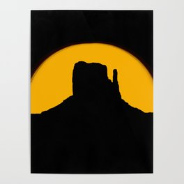 Monument Valley - Left Hand #2 Poster