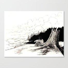 Navriss on the Sea of Sorrows Canvas Print