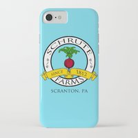 dwight schrute iPhone & iPod Cases featuring Schrute Farms | The Office - Dwight Schrute by Silvio Ledbetter