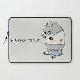 Hipsterpotamus Laptop Sleeve