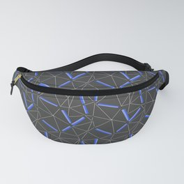 Purple Prisma Fanny Pack