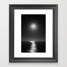 Moonlight Mist Framed Art Print