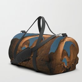 Double Arch In Arches National Park Duffle Bag