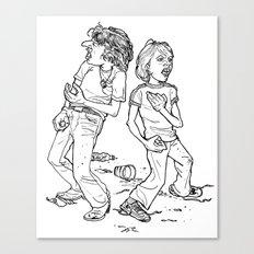 Don't Fight It, Feel It. Canvas Print