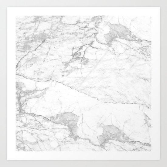 Real Marble 017 Art Print