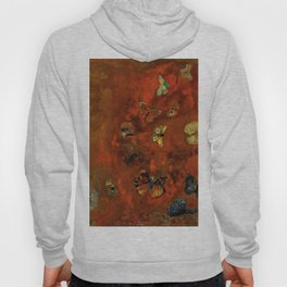 "Odilon Redon ""Evocation of butterflies"" Hoody"