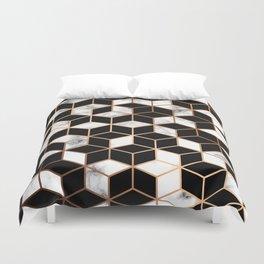 Marble & Geometry 005 Duvet Cover