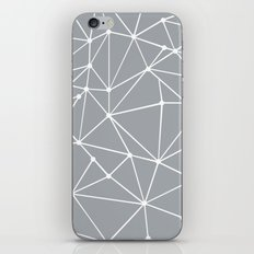 Ab Out Spots Grey iPhone & iPod Skin