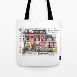 Death and Taxes - Toronto Tote Bag