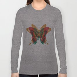 Butterfly Rorschach, Ya Know, For Kids! Long Sleeve T-shirt