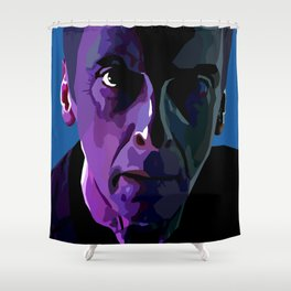 The face of Who Shower Curtain