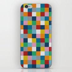 Colour Block #2 iPhone Skin