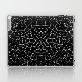 Cracked Dark Texture Pattern Laptop & iPad Skin