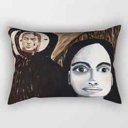TIC TOC and FRIDA Rectangular Pillow