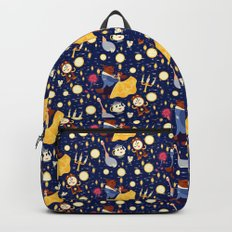 Be Our Guest Pattern Backpack