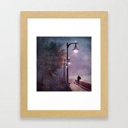 ITALIAN LOVE Framed Art Print