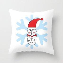 Christmas coming soon. Believe in Santa Clause. Believe #society6 #decor #buyart #artprint Throw Pillow