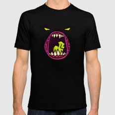 HUNGRY MEDIUM Mens Fitted Tee Black