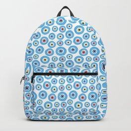 ''Evil eye'' pattern Backpack