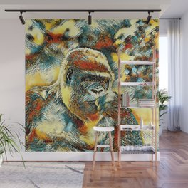 AnimalArt_Gorilla_20180201_by_JAMColorsSpecial Wall Mural