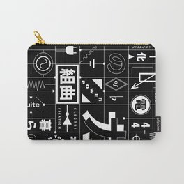 Electric Power Suite In The Key of C Carry-All Pouch
