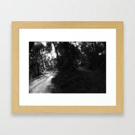 moral  bifurcation Framed Art Print