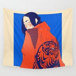 Tiger jacket Wall Tapestry